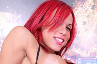 Erika schinaider  libidinous redhead erika schinaider takes in a