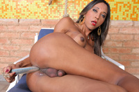 Bruna santos  bruna santos has some solo time to stuff her shemale anal  httpjoin trans500 comviewbanner phpid2697thumbnailtypejpg. Bruna Santos has some solo time to stuff her shemale ass!