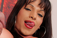 Crystal rouse  the exciting colombian crystal rouse loves stroking hers. The lusty Colombian Crystal Rouse loves stroking hers